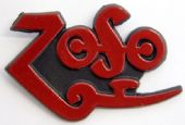 Led Zeppelin - 'Zoso' Plastic Badge